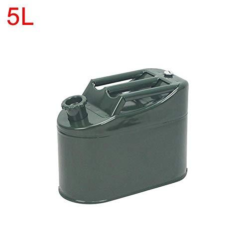 Jatour Benzinkanister Kraftstoffkanister Metall 5L Kraftstoff-Kanister für Benzin und Diesel