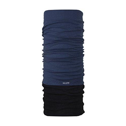 Mat 5896 – 620 hals en hoofddoek, unisex volwassenen, petrol, eenheidsmaat