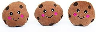 ZippyPaws ZP894 Miniz 3 Pack Cookies Squeak Toy