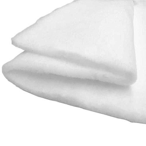 artapisserie.fr Ouate au mètre Polyester Blanche 100g/m², 80cm de Large Oeko Tex au Mètre