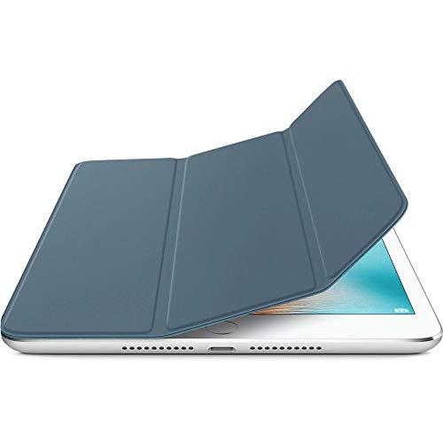 QINYUP Cubierta Frontal Plegable magnética con Dos Posiciones de pie Funda de Cuero Funda para Dormir para iPad Mini 4 -Azul_