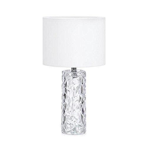 Markslöjd Monsieur E27 Tischleuchte weiß weiß Glas weiß IP20 II E27