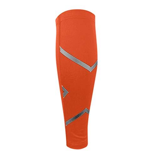 WoWer Kompressionsstrümpfe - Kompression Sleeve Laufstrümpfe für Herren & Damen Laufen, Joggen, Radfahren - Schienbeinkantensyndrom Splint Bandage