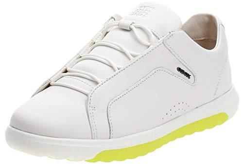 Geox Mens U NEXSIDE A Sneaker, White,44 EU