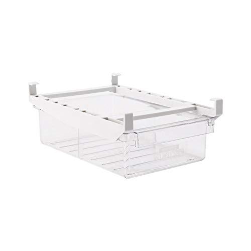 Seasaleshop Kühlschrank Organizer Schublade | Ausziehbare Kühlschrank Aufbewahrungsbox | Küche Eierablage Kühlschrank Platzsparender Aufbewahrungsbehälter