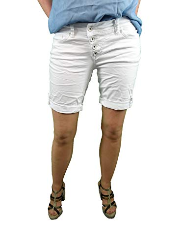 Buena Vista Paris Malibu-Short F Stretch Twill, weiß(White (032)), Gr. S
