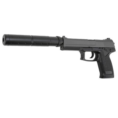 Unbekannt Softair DL60 Socom HW inkl. Schalldämpfer Springer 6mm BB