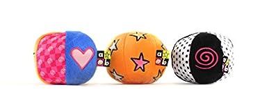 "Amazing Baby Chime, Jingle, Crinkle Sound Balls, 4"""