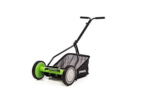 Greenworks RM1400 Lawn Mower, 14-Inch, Green