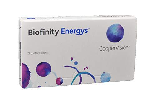 Biofinity Energys Sphärische Monatslinsen (R 8.6 / D 14 / -3.25 Diop), 3er Pack