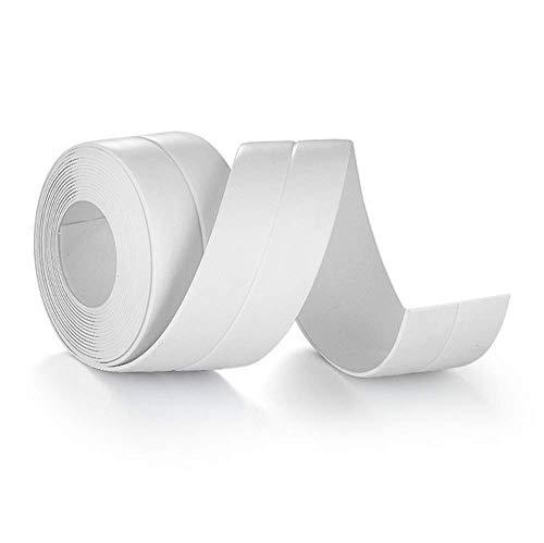 Badewanne Dichtleiste Selbstklebende Badewanne Und Wand Dichtband Fugenabdichtung Maschine Dusche Bildschirm Dichtung 3,2 M/Weiß