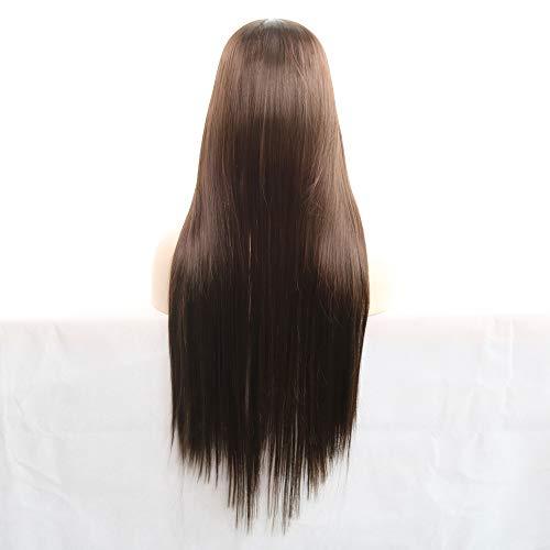 Tonsee Mode La perruque 80CM longue et étonnante de nouvelle arrivée de charme vous obtient 100% attrayante de cheveux humains