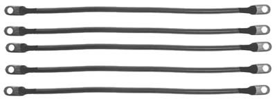 Club Car DS 95+ (48 Volt) Golf Cart – Battery Cable Set (4 Gauge)