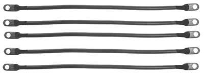 Club Car DS 95+ (48 Volt) Golf Cart - Battery Cable Set (4 Gauge)