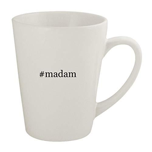 #madam - Ceramic 12oz Latte Coffee Mug