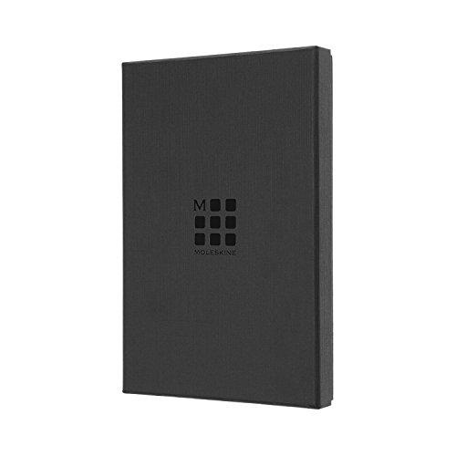 モレスキンノートクラシックレザーノートブックルールド(横罫)ラージブラックLCLH31BKBOX