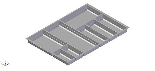 Besteckeinsatz Move 80 cm Kunststoff