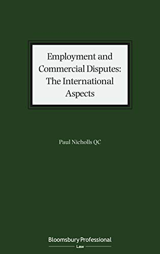 Employment and Commercial Disputes: The International Aspects (English Edition)