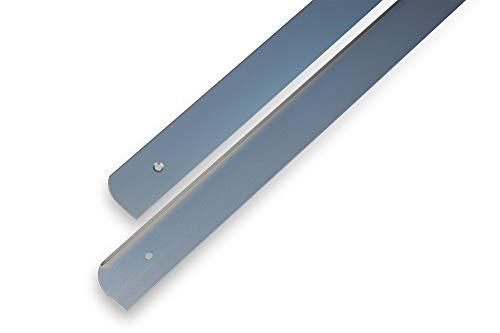 ABSCHLUSSLEISTE Winkelleisten Seiteleiste Arbeitsplatte Alu küche endeleiste L+R 28mm