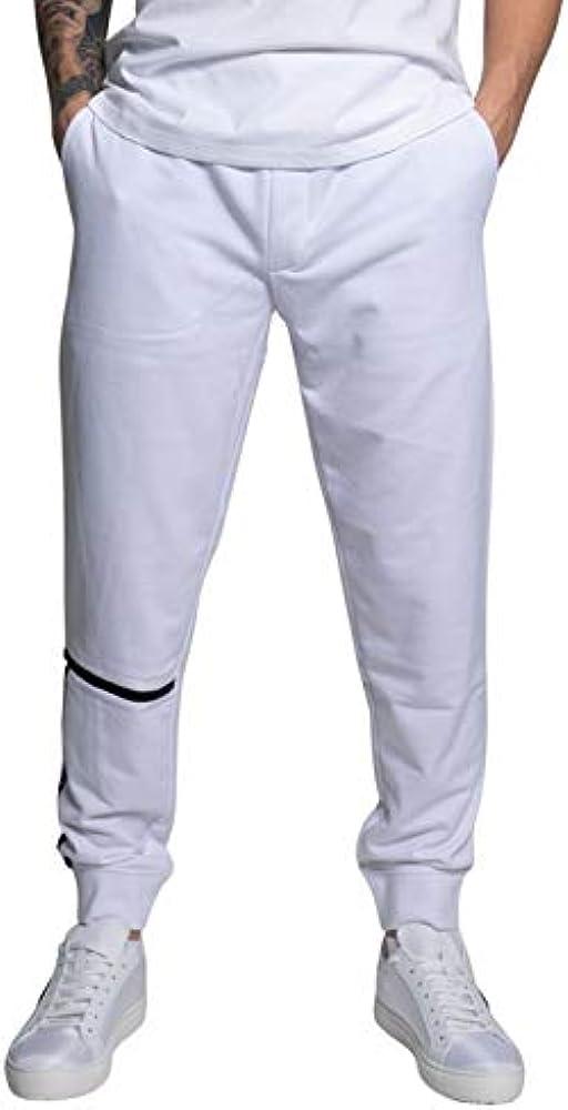 Armani exchange pants, pantaloni sportivi per uomo,54% cotone 46% poliestere 3KZPFEZJ9FZ1200