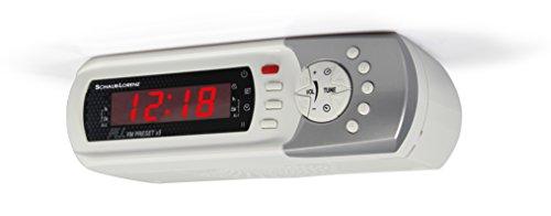 Schaub Lorenz RK 410 Küchenradio (Unterbau/Tischaufstellung, FM-PLL-Radio, Weckfunktion, Countdown-Timer) weiß