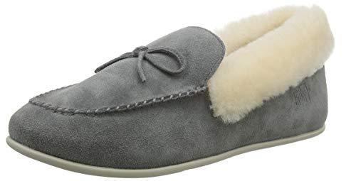 Fitflop Damen Clara Pantoffeln, Grau (Grey 049), 39 EU
