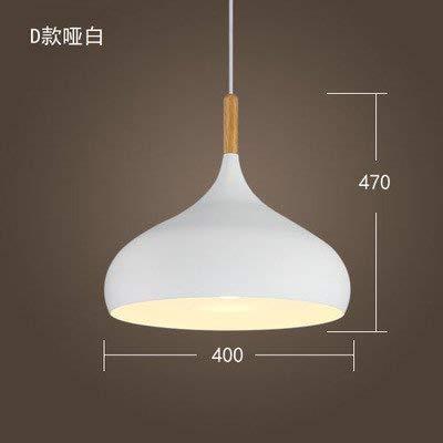 ERD Gzz Deng Home buitenverlichting hanglampen moderne eenvoudige Japanse stijl retro industriële verlichting restaurant bar slaapkamer kantoor hout wit 40 cm 12 Watt LED