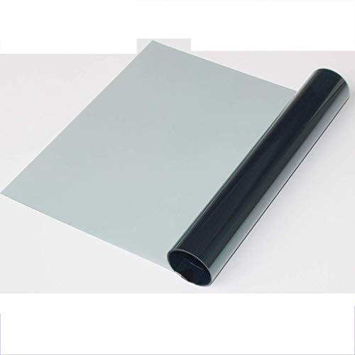 ZXL raamfolie glasfolie hoge lichtdoorlatendheid zonruimte explosiebestendige isolatie balkon raam zonlicht zichtbaar lichtdoorlatendheid: 68%, (grootte: 0,5 mt * 1 mt)