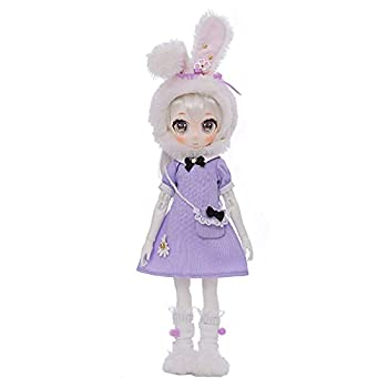 MEShape 29cm Playful BJD Dolls 1/6 Fashion SD Doll Ball Jointed Doll Action Figures Girl Games Toy Set Suitable for Doll Hobby Collection