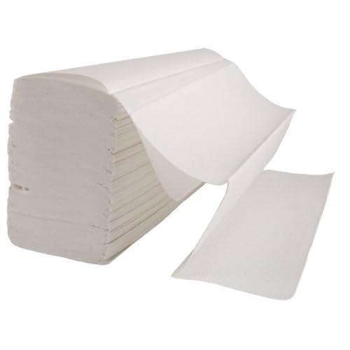 3000 x Z Fold WHITE Paper Hand Towels (23.5cm x 24cm) 2 Ply