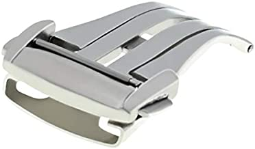 16-18-20mm Deployment Buckle Band Clasp Compatible with Omega Seamaster Planet Ocean Strap