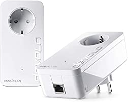 Devolo Magic 2 LAN: Ideale per il smart work da casa, Powerline ad alte prestazioni, fino a 2400 Mbit/s tramite dLAN per...