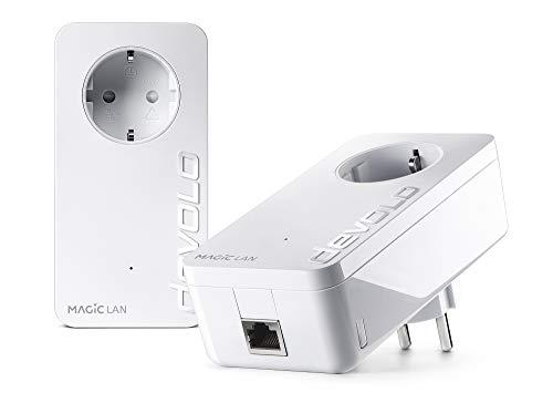 Devolo Magic 2LAN: Powerline de Alto Rendimiento, hasta 2400 Mbit/s a través...