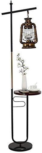 Eenvoudige moderne creatieve geleid verticaal staande lamp, bank in de woonkamer slaapkamer nachtkastje decoratieve verlichting, Black