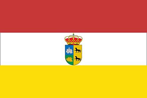 magFlags Bandera Large Villanueva del Rey, Córdoba, España   Bandera Paisaje   1.35m²   90x150cm