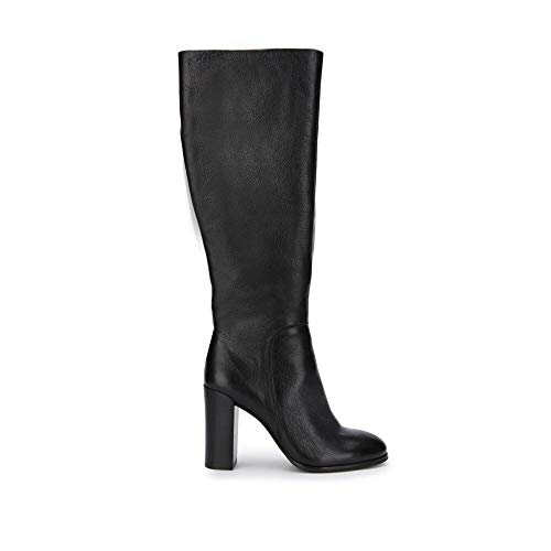 Kenneth Cole New York Women's Justin Engineer Boot, Black, 6 M US