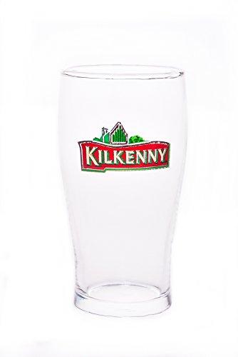 6x Kilkenny Glas 0,4L Gläser Bier Guinness Red Ale Stout