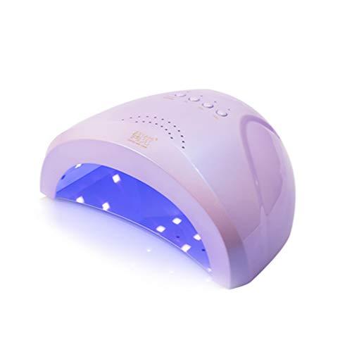 TSSM 48W LED Lámpara de Uñas Secador de Uñas Portátil ManicuraPedicura Lámpara de Curado Temporizador Más Anti-UV Guantes de Regalo Adecuado