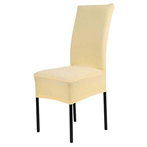 takestop® Set van 2 stoelhoezen stoelkussens stof elastisch voor Seat