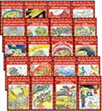 THE MAGIC SCHOOL BUS READER COMPLETE 20-BOOK SET (Scholastic Readers, Level 2) (The Magic School Bus . . . The Wild Leaf Ride, Sleeps for the Winter, Lost in the Snow, Flies from the Nest, Takes a Moonwalk, Arctic Adventure, Has a Heart, Gets Crabby, Flies with the Dinosaurs, and the Missing Tooth, Rides the Wind, in the Bat Cave, Gets Recycled, Gets Caught in a Web, and the Shark Adventure, Fights Germs, Weathers the Storm, Blasts into Space, at the First Thanksgiving, and Builds the Statue of Liberty)