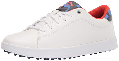 Callaway Women's Del Mar Golf Shoe, White, 9.5