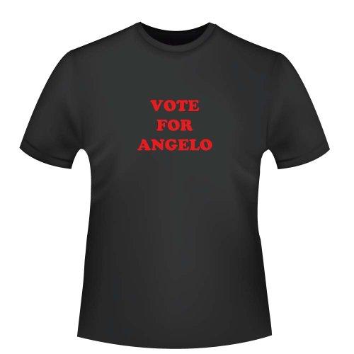 Vote for Angelo, Herren T-Shirt - Fairtrade, Größe 3XL, schwarz