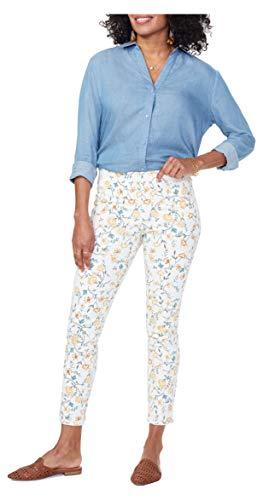 NYDJ Damen Skinny Ankle Pull-ON Jeans, Zinnia Arrangement Ringelblume, 40