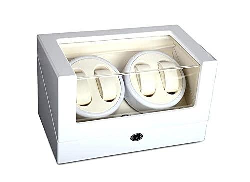 hyywmgx Caja automática de madera de la devanadera del reloj de la caja de los almacenamientos de la devanadera del reloj, 00