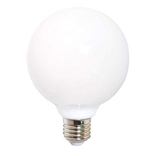 LED Leuchtmittel 360° opal matt warmweiß 2700K - Globe G120 E27 6W = 60W