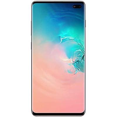 "Samsung Galaxy S10+ Plus (128GB, 8GB) 6.4"", IP68, AT&T Unlocked, US+Global GSM/CDMA (AT&T/T-Mobile/Verizon/Sprint) G975U w/US Warranty (White, 128 GB)"