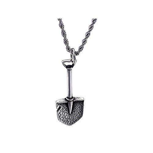 LKYH Fashion Charm Classic Retro Einfache Charm Halskette Titan Stahl Anhänger Haushalts Gadget Halskette