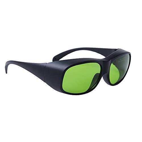 LaserPair Gafas de seguridad láser de diodo DIN CERTCO certificado, 808 - 980nm DIR L5 y 1000 - 1070nm DIR L7 para médico y técnico láser médico, industria