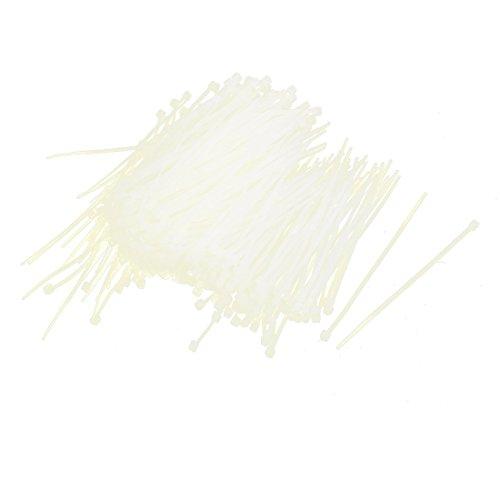 Nylon autoblocante cable eléctrico Zip Ties sujetador 1000pcs Beige