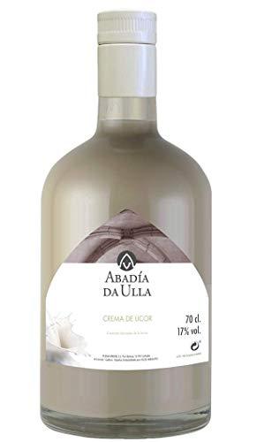 Licor Crema de Orujo Gallego casero. Aguardiente de Galicia